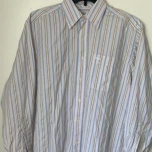 Christian Dior Long Sleeve Stripped Shirt M Men's